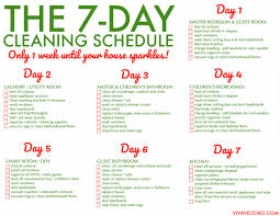 cleaning schedule printable free printable weekly house cleaning schedule viva veltoro