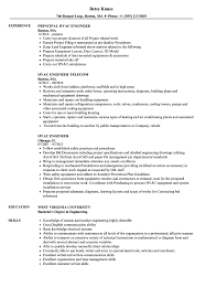 Hvac Engineer Resume Samples Velvet Jobs