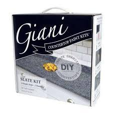 giani granite slate countertop paint kit