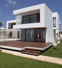 White Modern Houses Modern House