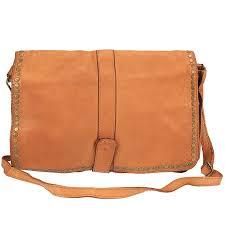 vanila vintage leather shoulder bag
