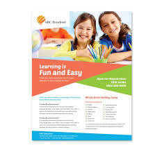 Daycare Flyers Samples 22 Best School Images On Pinterest Flyer