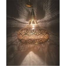 dokantak cool handcrafted moroccan brass oriental home decor hanging lamp in gold color everything egyptian