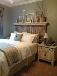 we can use some of the old doors this way! / 90 year old door  Beautiful Unique  Queen Size Headboards 44 For Headboard Lamps For ...