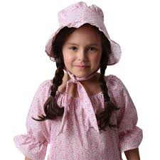 pioneer woman clothing. amazon.com: women and girls pink calico print pioneer bonnet: toys \u0026 games woman clothing