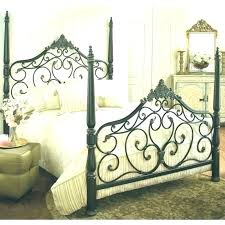 Queen Black Metal Bed Frame Wrought Iron Ikea – Luluvacations