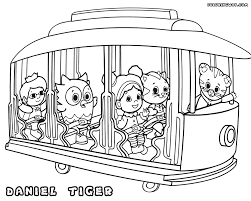 Daniel Tiger Coloring Pages The Sun Flower Pages