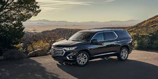 2018 chevrolet vehicles. fine 2018 2018 traverse midsize suv exterior photo side front to chevrolet vehicles
