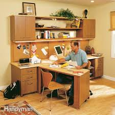 How to build an office Custom Made How To Build Home Office The Family Handyman Home Office Ideas Storage The Family Handyman