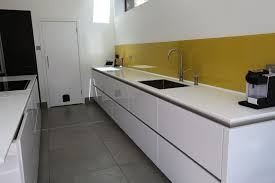 Splashback For Kitchens White Kitchen Yellow Splashback Google Search Dublin