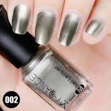 DIY Nail Art Flow Gold Mirror Chrome Effect Nail Polish Foil Nails ...