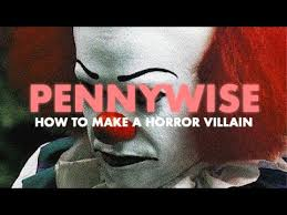 pennywise how to make a horror villain video essay  pennywise how to make a horror villain video essay