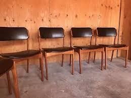 3 of 10 set of 6 mid century danish modern erik buch od mobler teak dining chairs