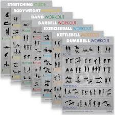 Get Fit For The Army Wall Chart