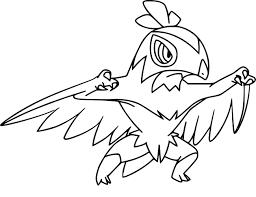 Coloriage Brutalibr Pokemon Imprimer
