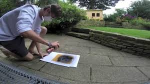 Stenciling Spray Paint How To Make Spray Paint Stencils Youtube