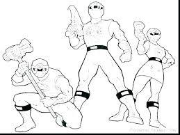 Mewarnai Power Rangers Power Rangers Samurai Coloring Pages To Print
