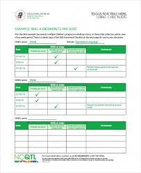 Awesome Assessment Checklist Template For Teachers Teacher Checklist ...