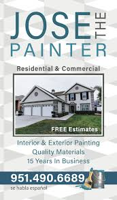 sometimes it is great helping out the little guy jose and his family run painting business have done work for me and friends for more than a decade