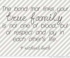 Family Bonding Quotes 60 Amazing The Bond That Links Your True Family Is Not One Of Blood But Of