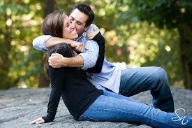 couple love hugging