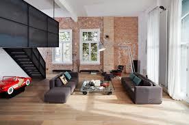 industrial furniture style. Living Room Industrial Interior Design Vintage Furniture Style Rugs Modern Exposed Brick B