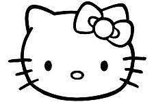 Hello Kitty Bow Car Decals
