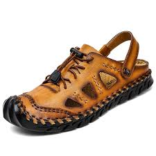 <b>IZZUMI</b> Men Sandals Summer <b>Outdoor</b> Casual Round Toe Slippers ...