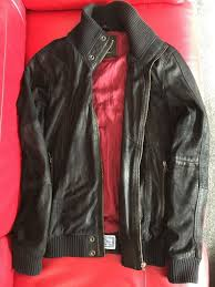 leather jacket used black small excellent condition mens superdry black superdry dresses superdry jackets 100 high quality guarantee
