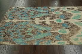 nuloom natura braided texture split ikat rug