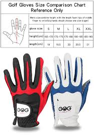 Us 6 5 35 Off Free Shipping Golf Glove New Hot Pu Slip Resistant Sports Gloves Blue Red For Left Hand Golf Ball Club Accessories In Golf Gloves From