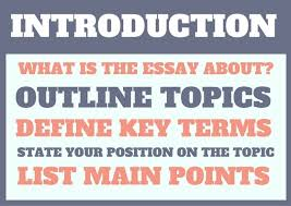writing an essay new to southern cross university image showing introduction what is the essay about outline topics define key terms