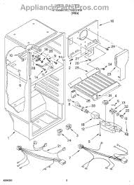 whirlpool wp2166867 timer defrost appliancepartspros com part diagram