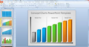 Powerpoint Chart Templates Free Creative Bar Chart Powerpoint Template