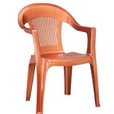orange plastic chair. Plastic Chair Orange