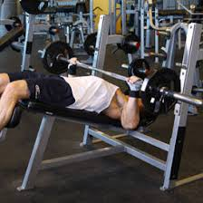 WideGrip Decline Barbell Bench Press  Exercise Videos U0026 Guides Decline Barbell Bench
