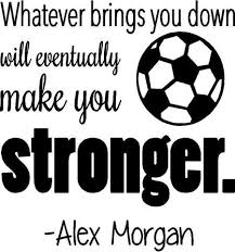 Amazon United States Soccer Decal Alex Morgan Quote Bedroom Awesome Soccer Quotes