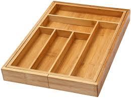 Kitchen Drawer Organizer Ybm Home Kitchen Expandable 6 Compartment Kitchen Utensil