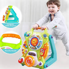 Baby Walker and Activity Center, Kids Magnetic Drawing Board, Early ...