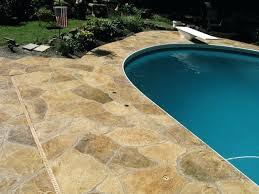 pool deck resurfacing how is a pool deck resurfaced this is going to depend on the pool deck