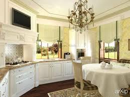 Полосатый интерьер кухни Металл дизайн Диплом на тему разработка интерьера и плитка виктория в интерьере