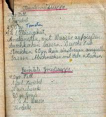 Kochen Anfang Der 50er Jahre