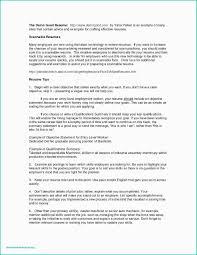 Sample Resume Dock Supervisor New Restaurants Resume Download Hr