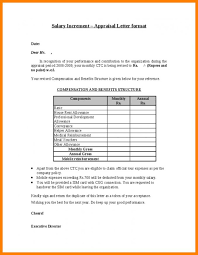 Increment Letter Adorable Salary Increment Letter From Employer Format In Word Newsinvitationco