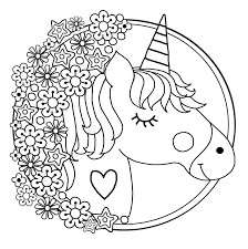 Nothing is more valuable than the moments and memories of a parent and their children. Unicorns Free To Color For Kids Unicorns Kids Coloring Pages