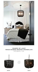 shades of light wood beaded dd chandelier