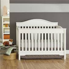 Ed Bauer Langley 3 in 1 Crib White Dorel Canada Babies