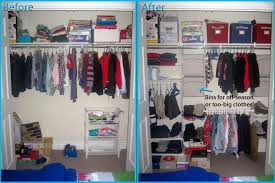 rubbermaid closet helper before after