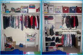 rubbermaid closet helper before after