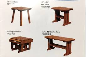 end tables coffee tables ottomans etc are available to accessorize your outdoor furniture